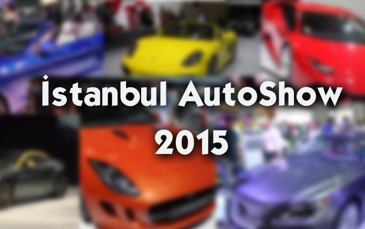 İstanbul AutoShow 2015'deyim